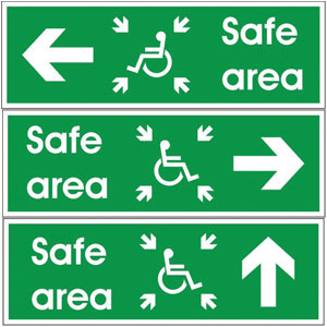 Disabled-Safe-Area-Signs