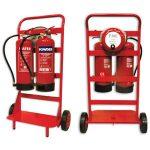 Extinguisher-Trolley