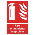 Fire-Extinguisher-Keep-Clear-Sign