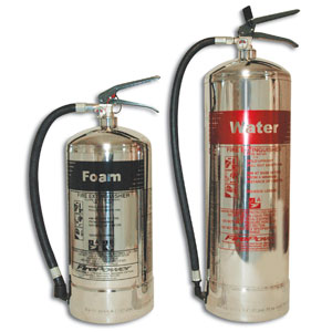 Firepower-Stainless-Steel-&-Polished-Chrome-Extinguishers