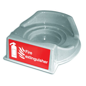 Plastic-Extinguisher-Base-Stand-Grey