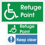 Refuge Point Sign1