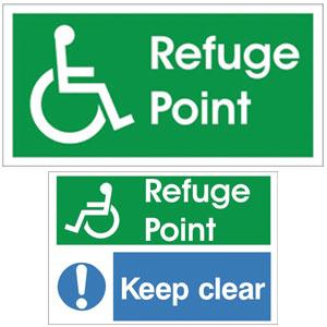 Refuge Point Sign1