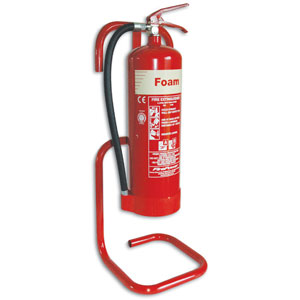 Tubular-Extinguisher-Stand-Red